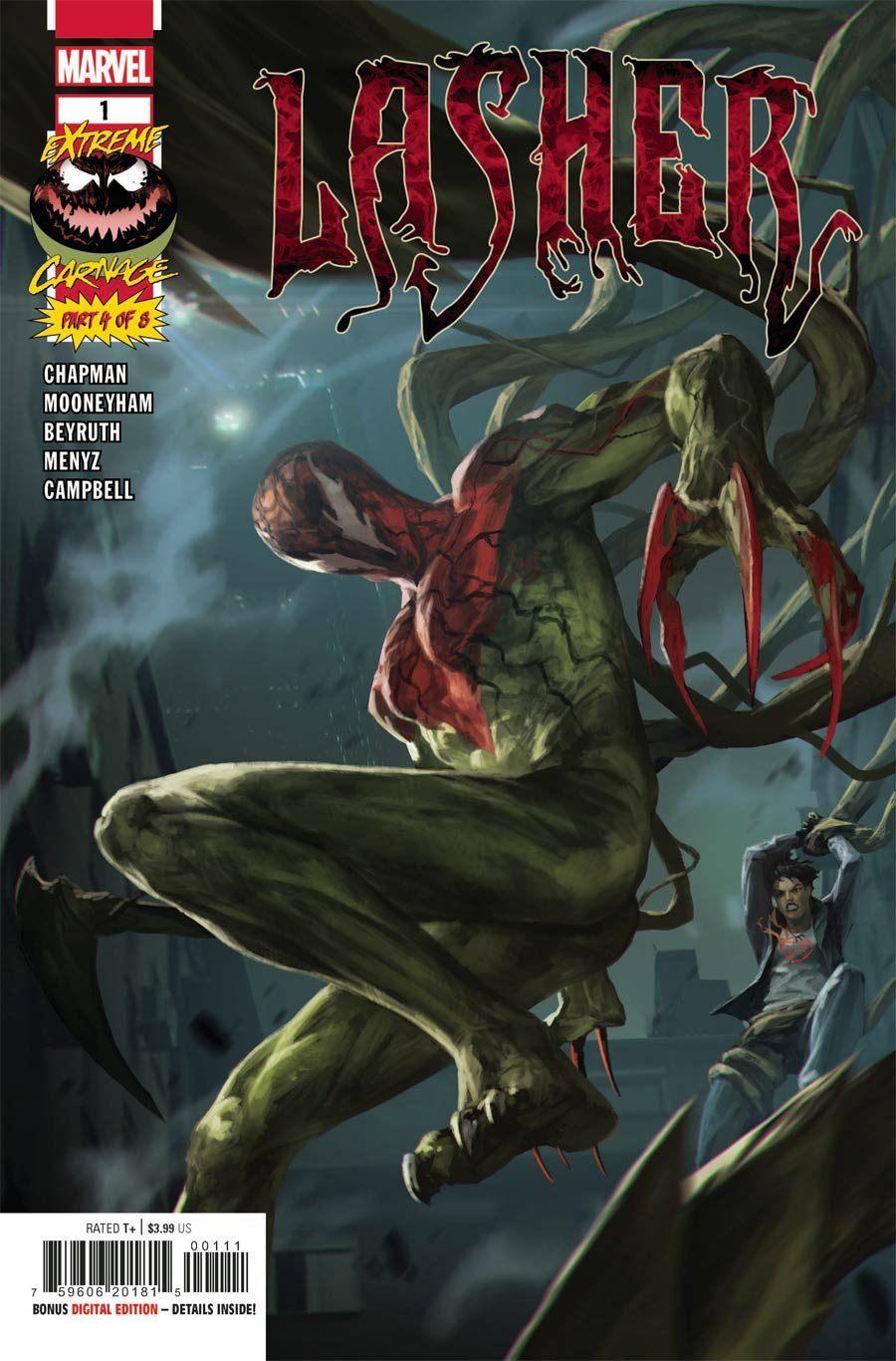 Extreme Carnage Lasher #1 (One Shot) Cover A Regular Skan Cover (Limit 1 Per Customer)