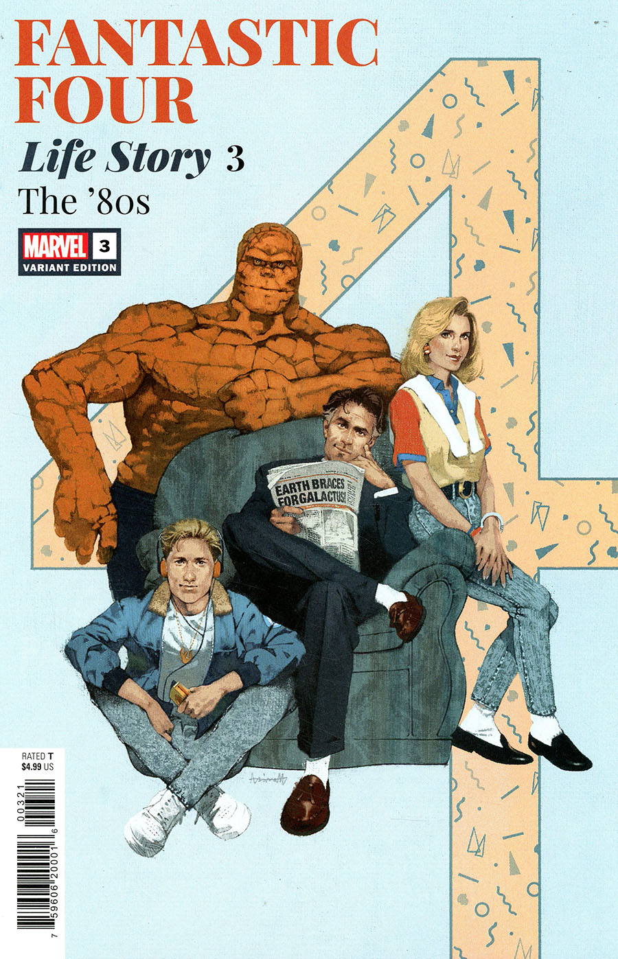 Fantastic Four Life Story #3 Cover B Variant Marc Aspinall Cover