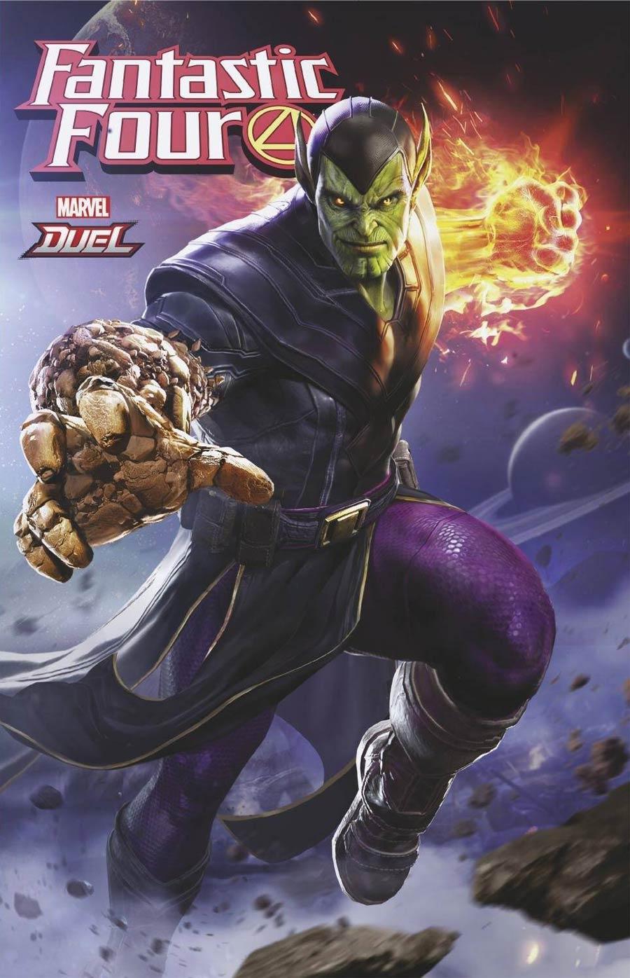 Fantastic Four Vol 6 #35 Cover B Variant NetEase Marvel Games Cover