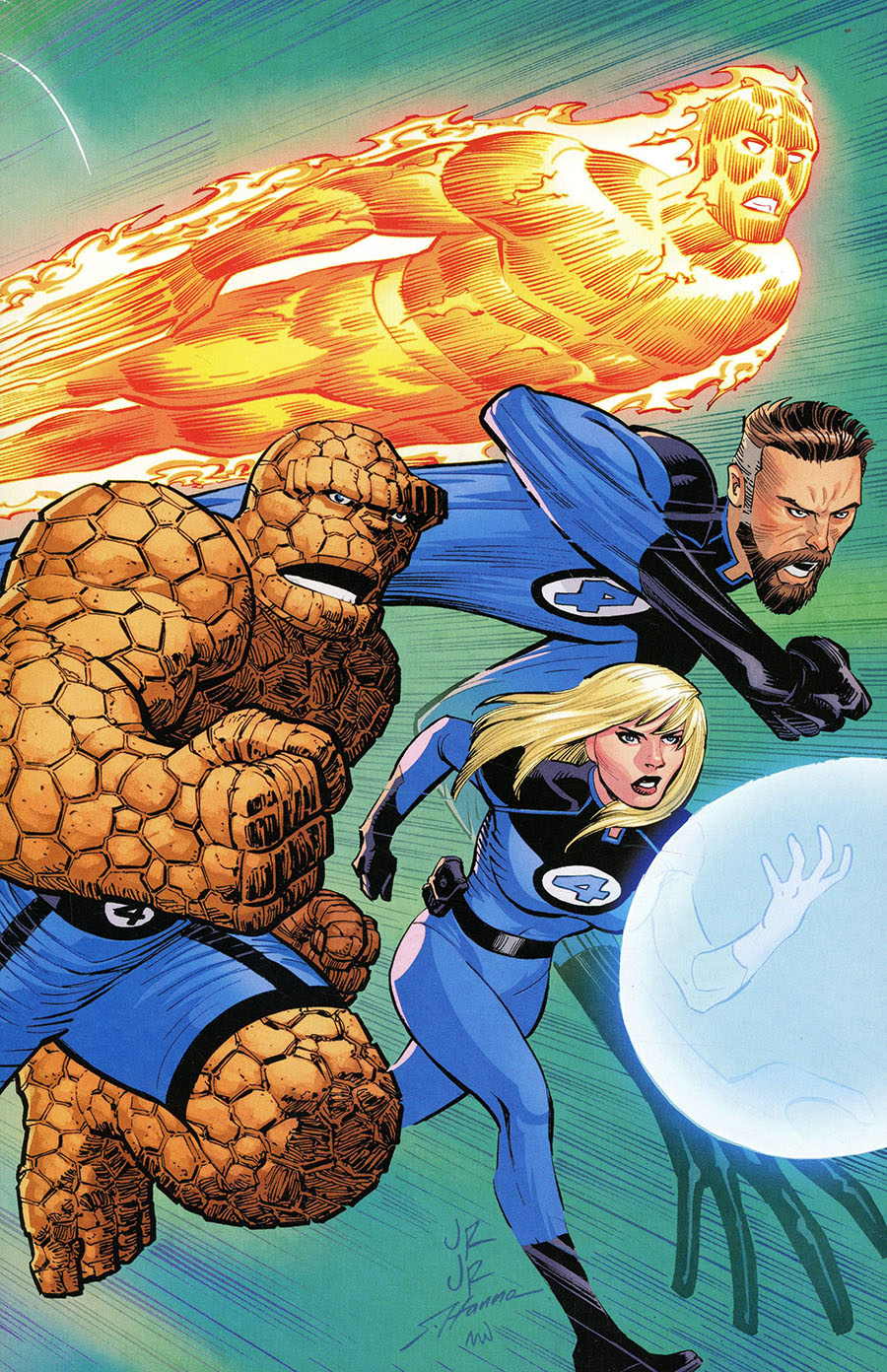 Fantastic Four Vol 6 #35 Cover C Variant John Romita Jr Cover