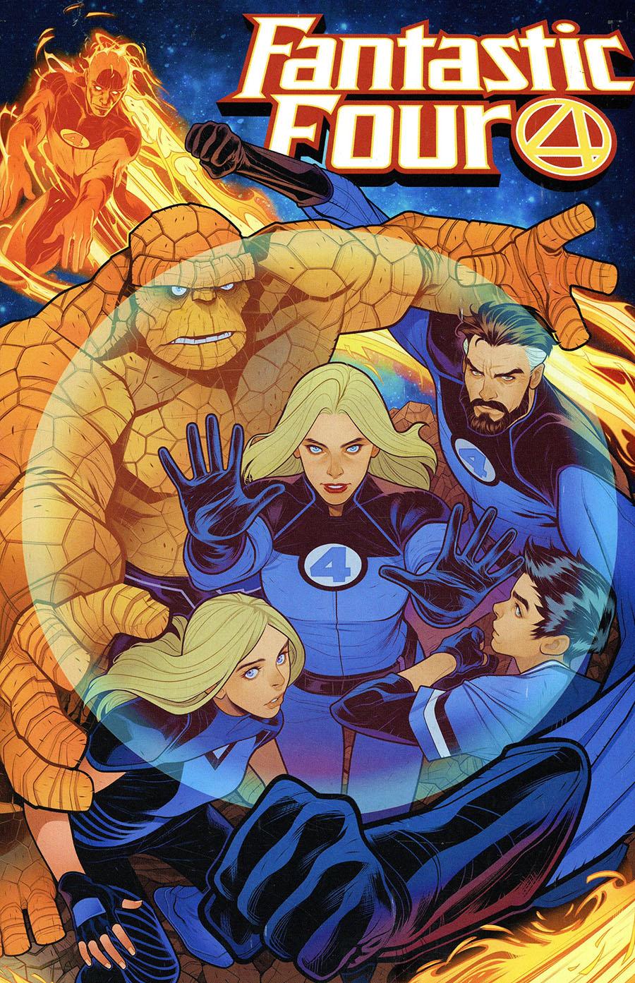 Fantastic Four Vol 6 #35 Cover D Variant Elizabeth Torque Cover