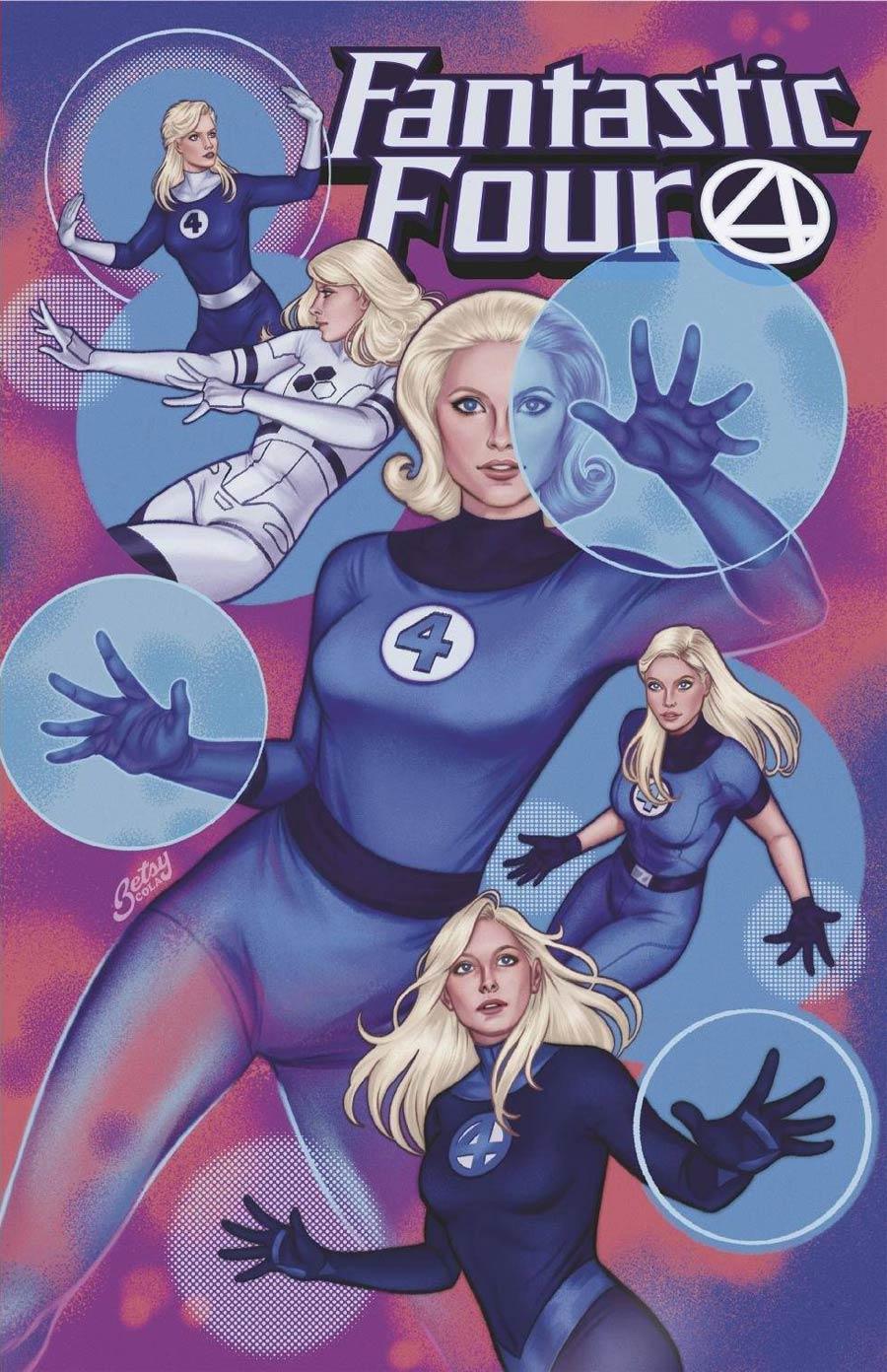 Fantastic Four Vol 6 #35 Cover E Variant Betsy Cola Cover