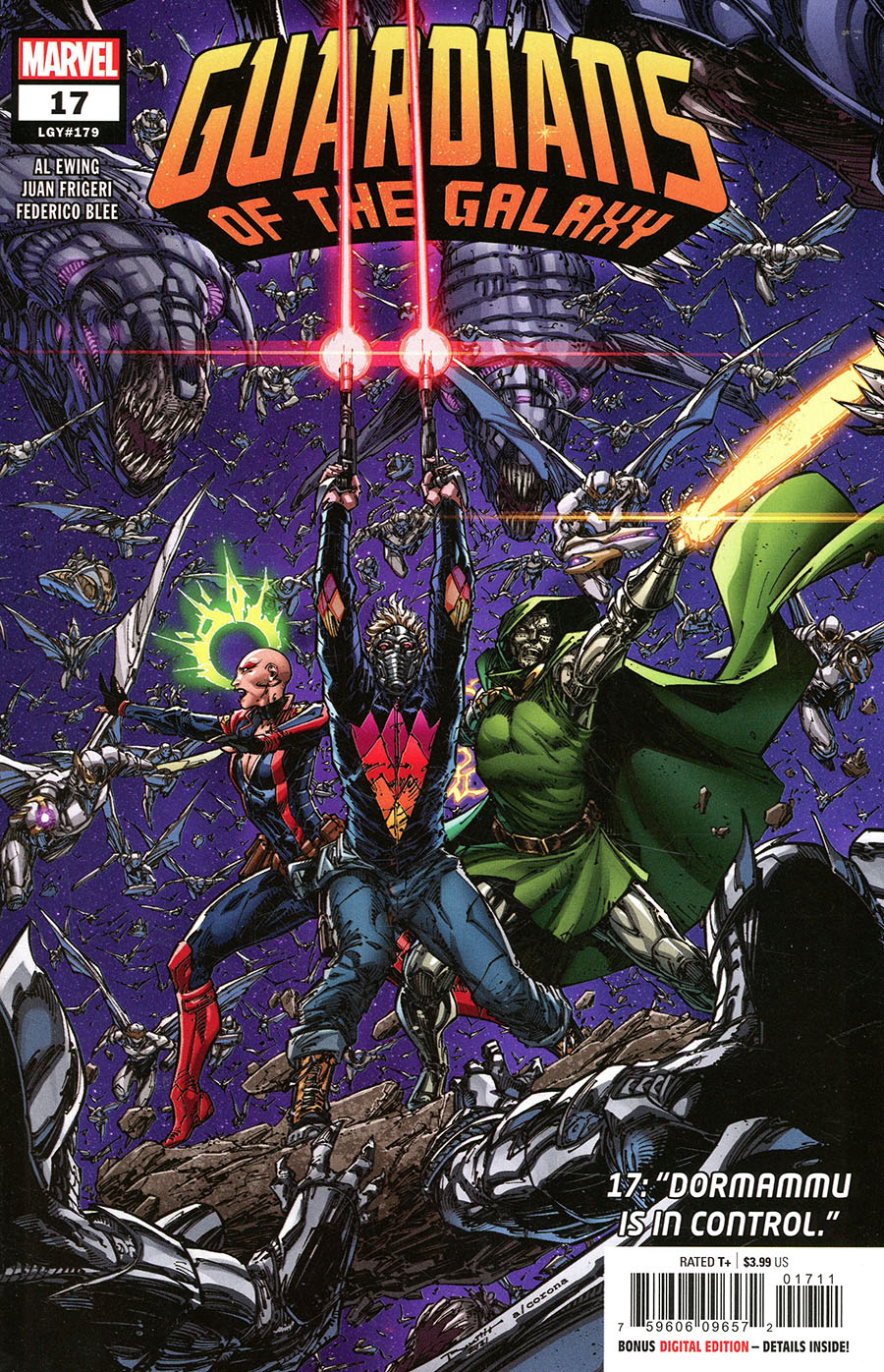 Guardians Of The Galaxy Vol 6 #17 Cover A Regular Brett Booth Cover (Last Annihilation Tie-In)