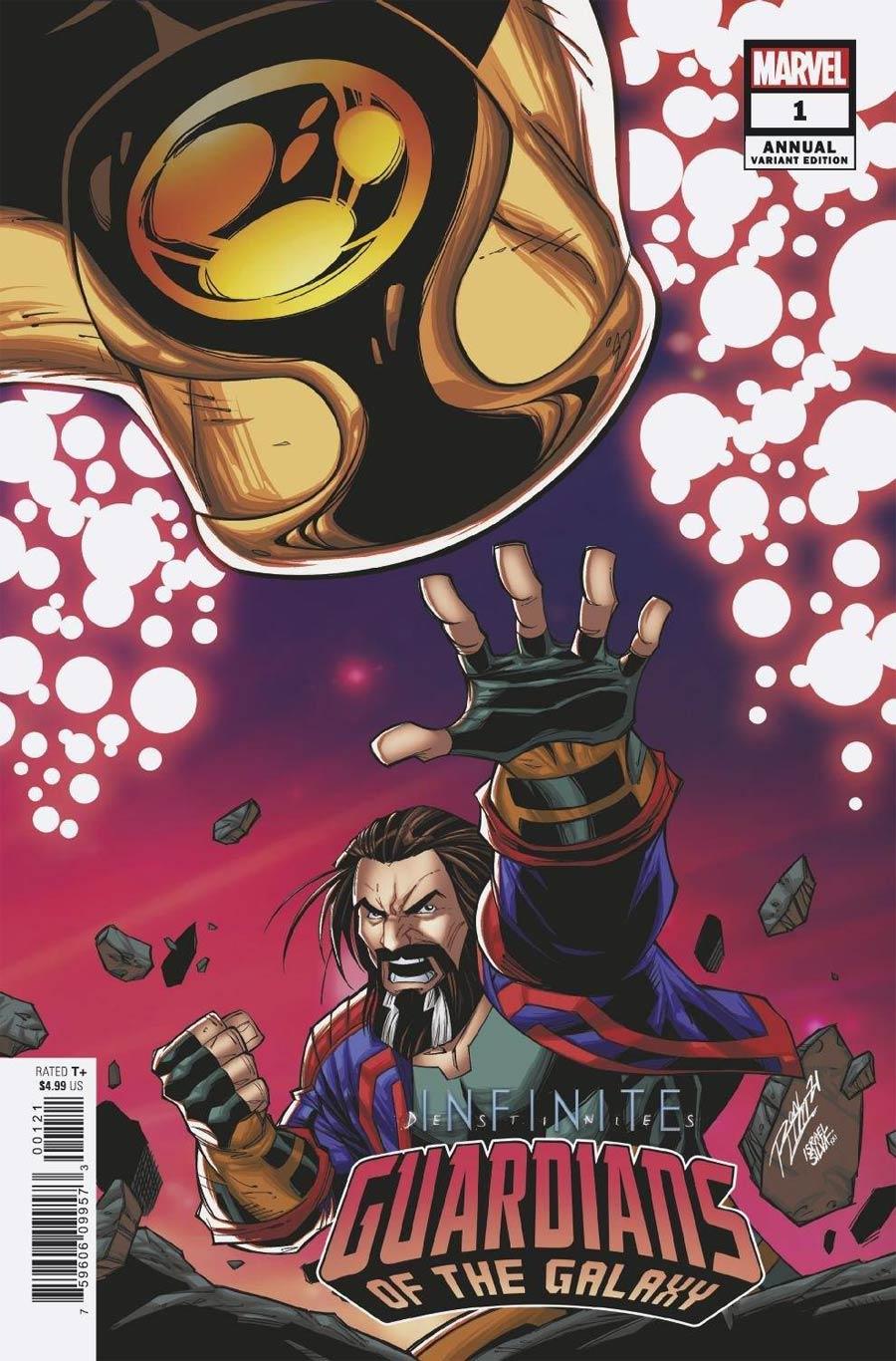 Guardians Of The Galaxy Vol 6 Annual #1 Cover B Variant Ron Lim Connecting Cover (Infinite Destinies Tie-In)
