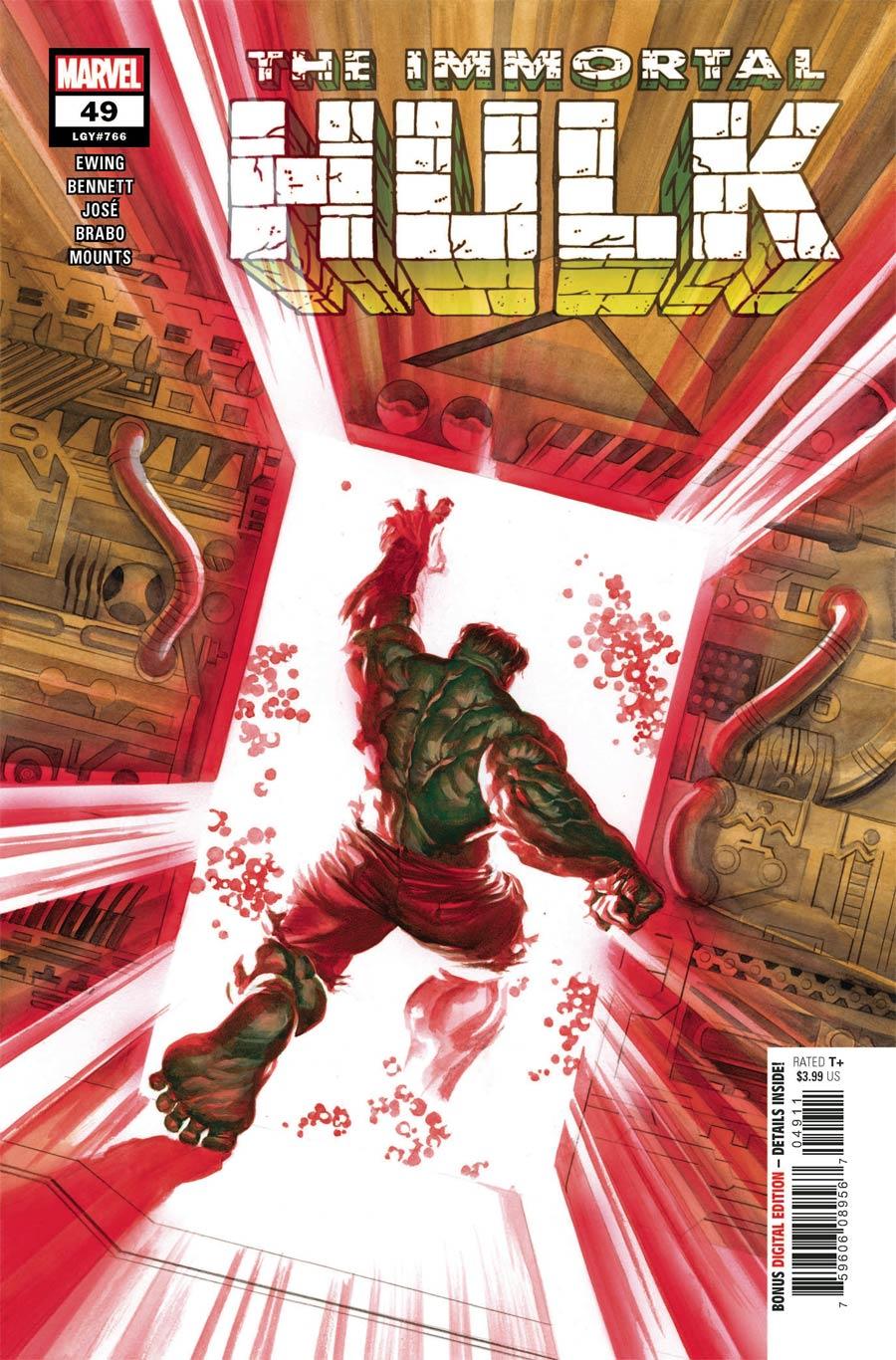 Immortal Hulk #49 Cover A Regular Alex Ross Cover