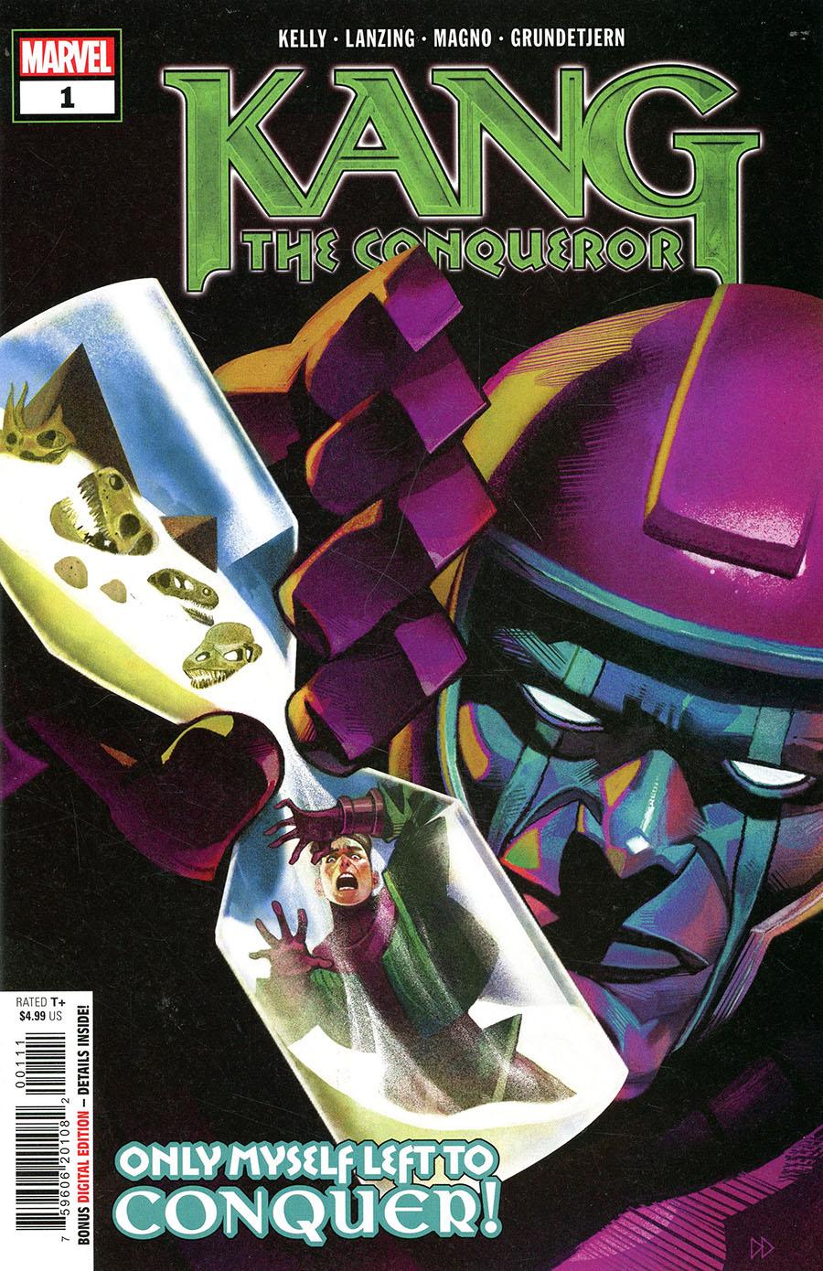 Kang The Conqueror #1 Cover A Regular Mike Del Mundo Cover (Limit 1 Per Customer)