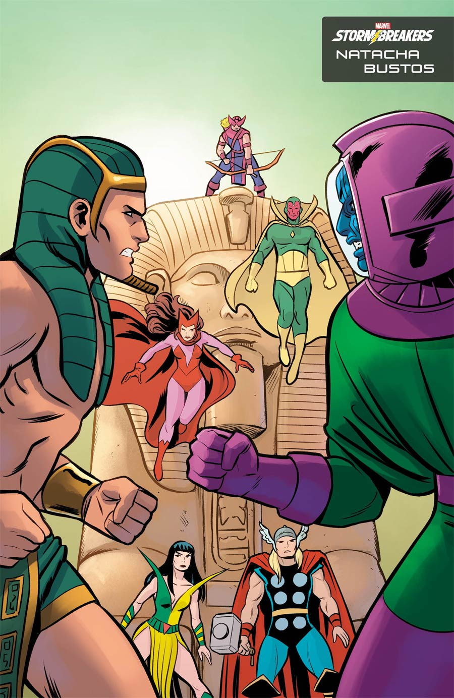 Kang The Conqueror #1 Cover B Variant Natacha Bustos Stormbreakers Cover