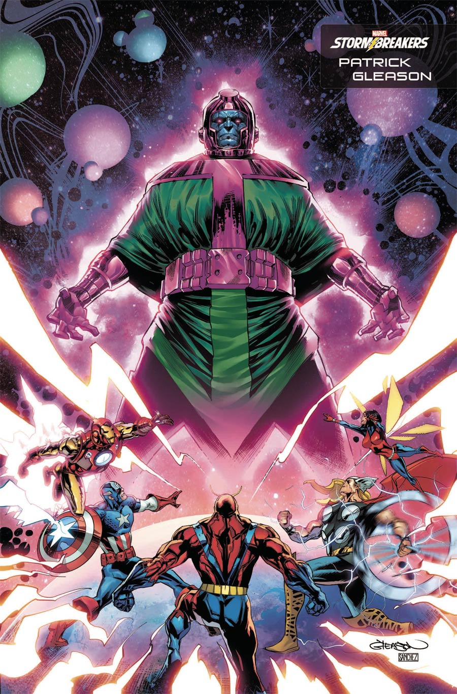Kang The Conqueror #1 Cover G Variant Patrick Gleason Stormbreakers Cover