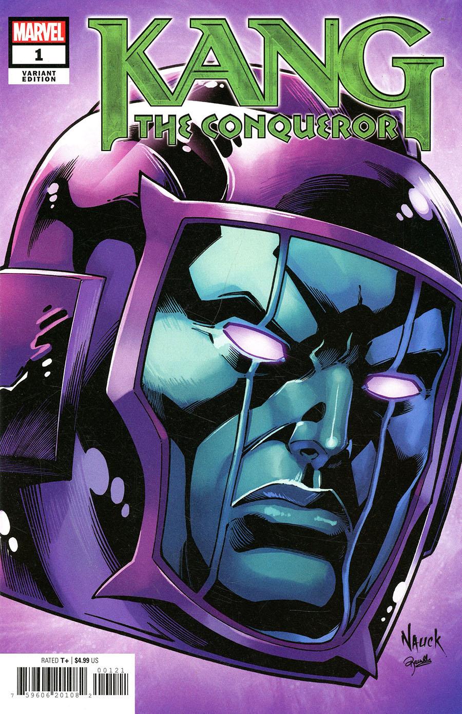 Kang The Conqueror #1 Cover J Variant Todd Nauck Headshot Cover