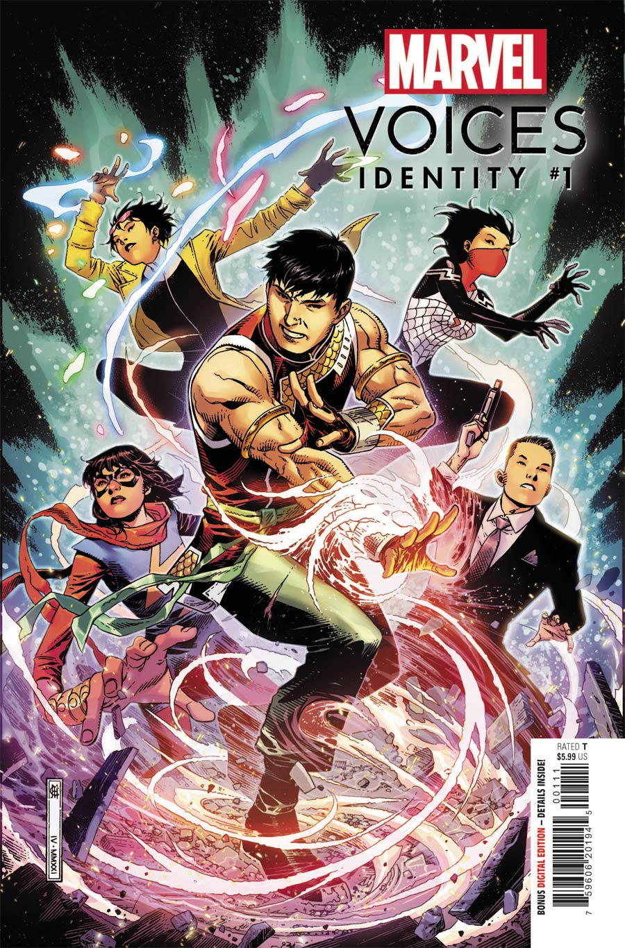 Marvels Voices Identity #1 (One Shot) Cover A Regular Jim Cheung Cover