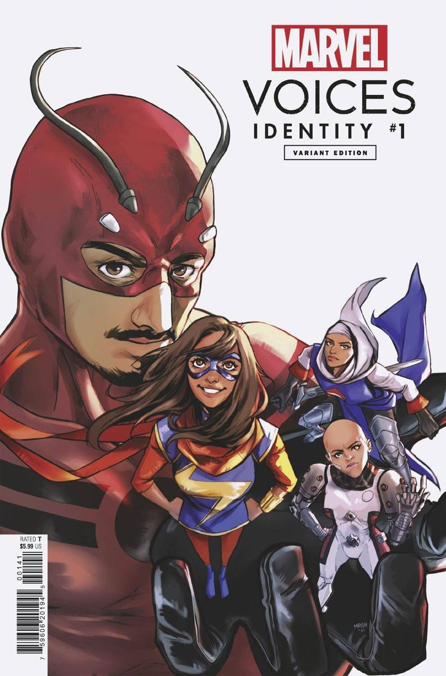 Marvels Voices Identity #1 (One Shot) Cover D Variant Mashal Ahmed Cover