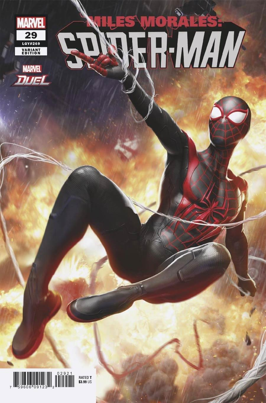 Miles Morales Spider-Man #29 Cover B Variant NetEase Marvel Games Cover (Limit 1 Per Customer)