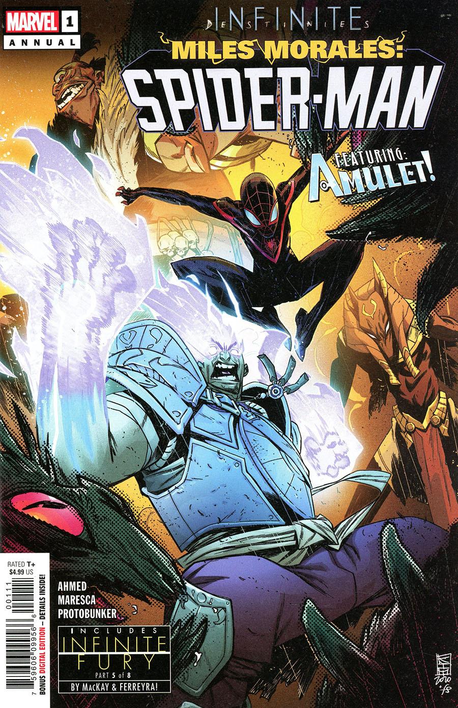 Miles Morales Spider-Man Annual #1 Cover A Regular Kim Jacinto Cover (Infinite Destinies Tie-In)