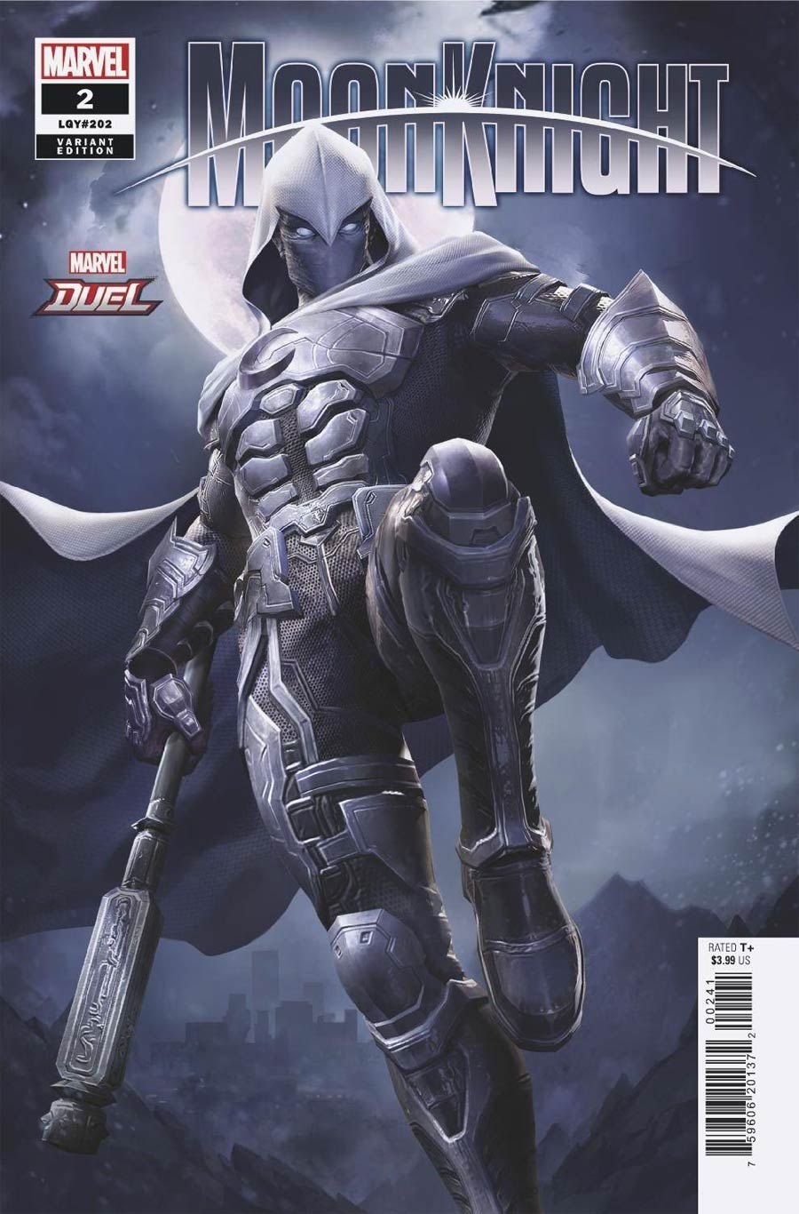Moon Knight Vol 9 #2 Cover B Variant NetEase Marvel Games Cover (Limit 1 Per Customer)