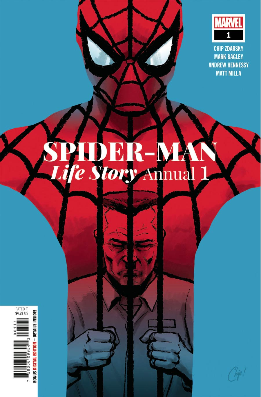 Spider-Man Life Story Annual #1 Cover A Regular Chip Zdarsky Cover