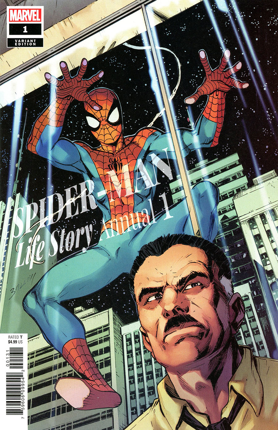 Spider-Man Life Story Annual #1 Cover B Variant Mark Bagley Cover