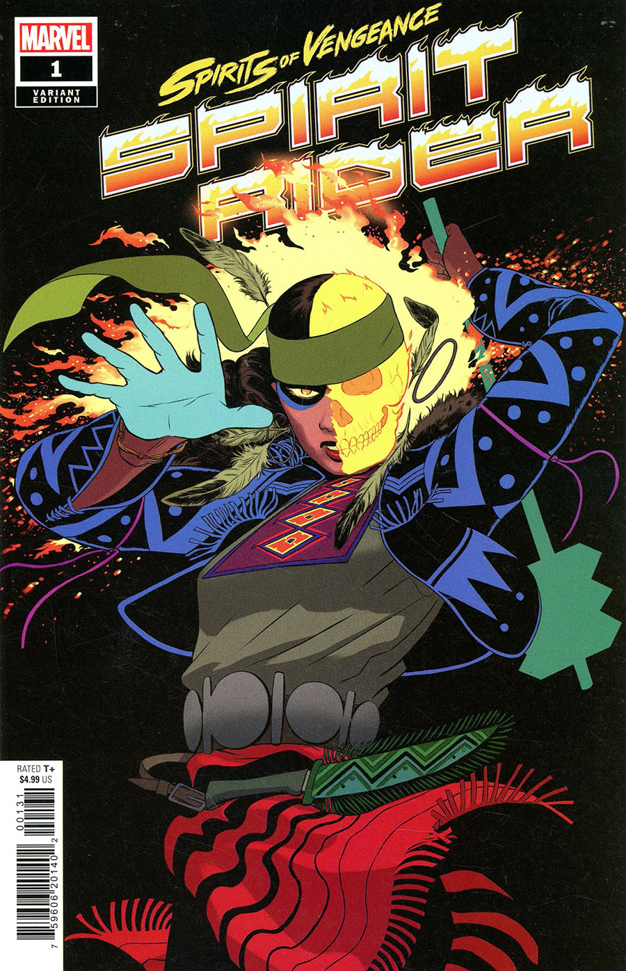 Spirits Of Vengeance Spirit Rider #1 (One Shot) Cover B Variant Javier Rodriguez Cover (Limit 1 Per Customer)