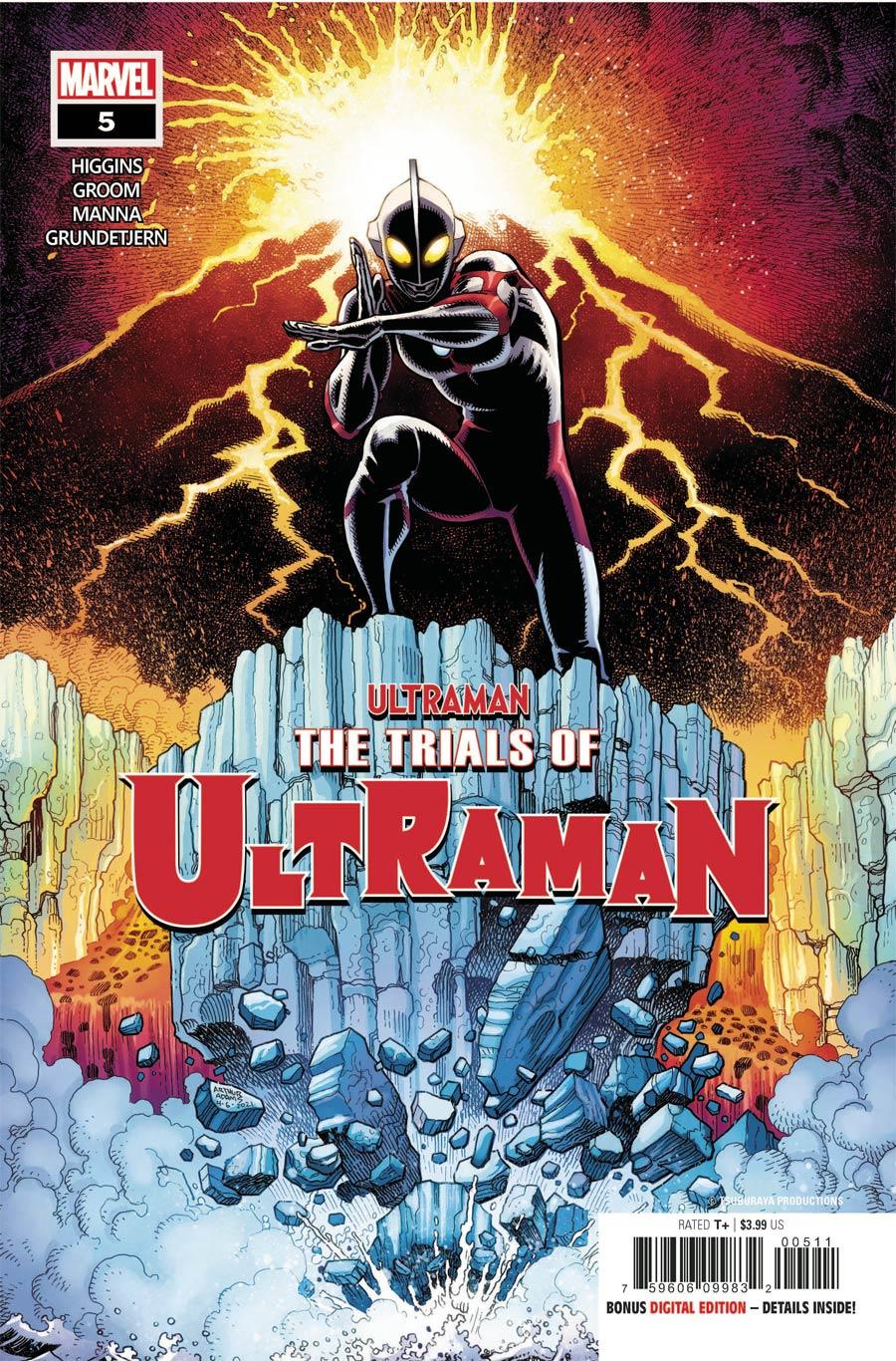 Ultraman Trials Of Ultraman #5 Cover A Regular Arthur Adams Cover