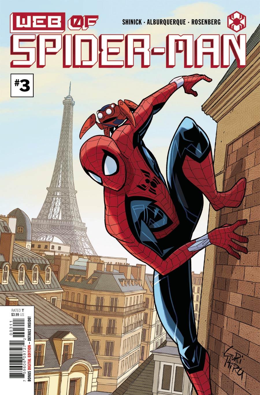 W.E.B. Of Spider-Man #3 Cover A Regular Gurihiru Cover