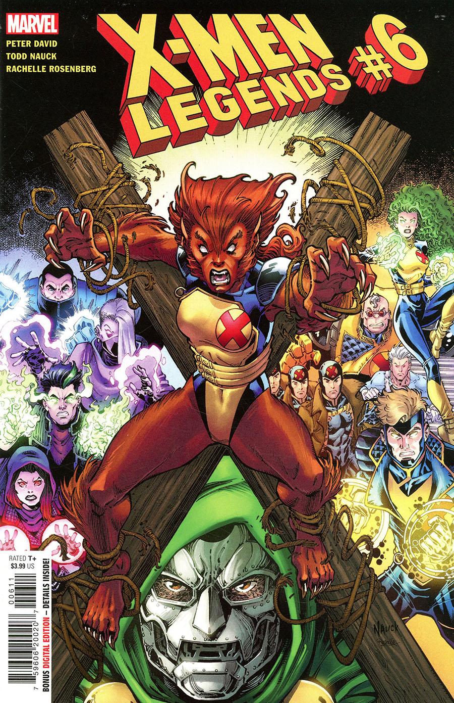 X-Men Legends #6 Cover A Regular Todd Nauck Cover