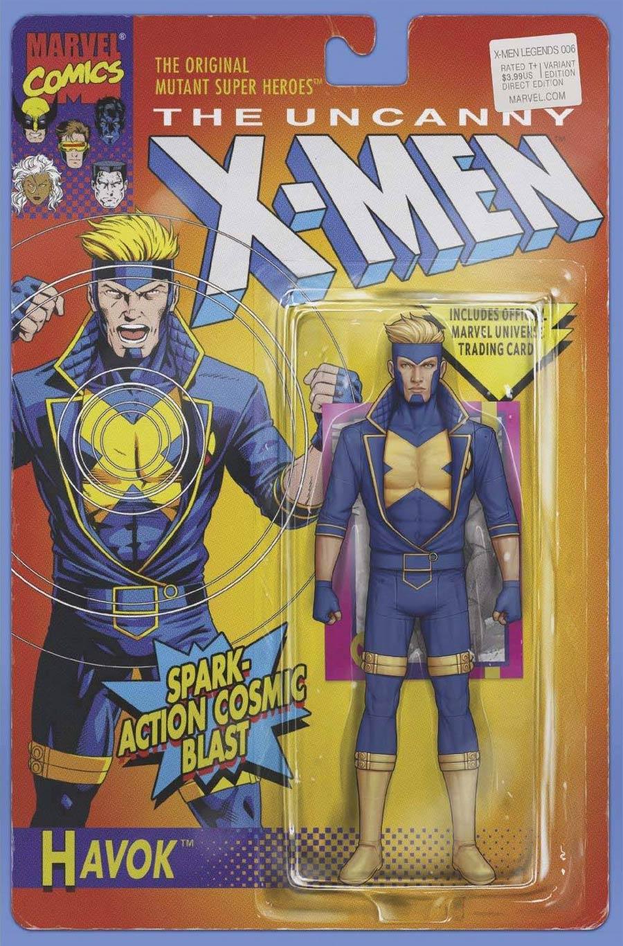 X-Men Legends #6 Cover B Variant John Tyler Christopher Action Figure Cover