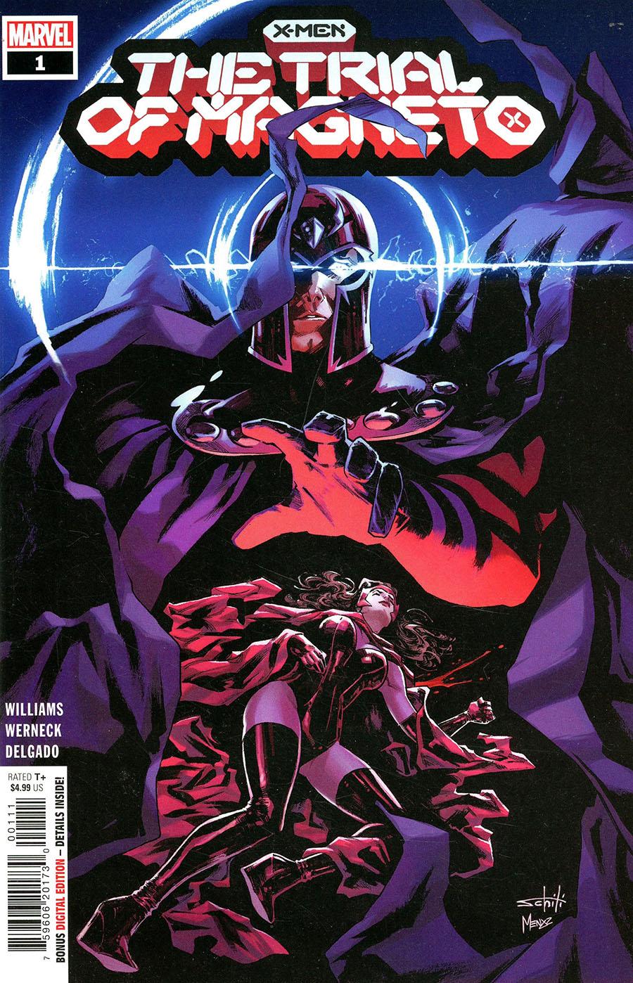 X-Men Trial Of Magneto #1 Cover A Regular Valerio Schiti Cover