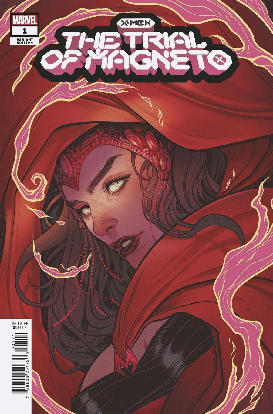 X-Men Trial Of Magneto #1 Cover B Variant Elizabeth Torque Spoiler Cover