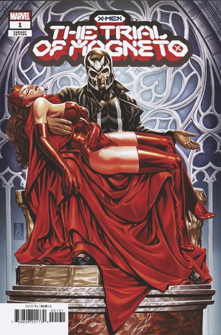 X-Men Trial Of Magneto #1 Cover C Variant Mark Brooks Cover