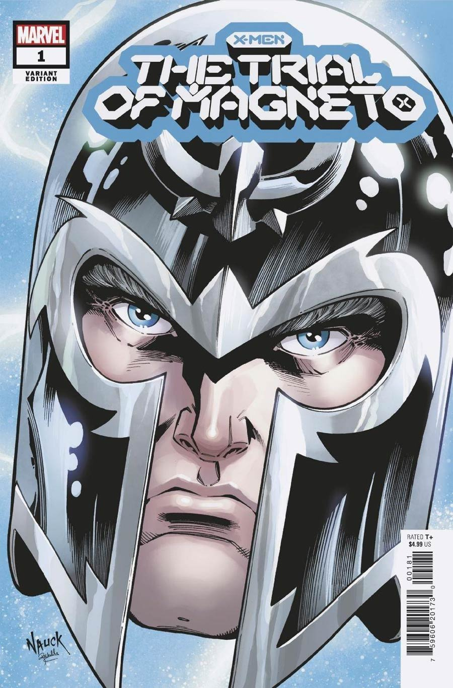 X-Men Trial Of Magneto #1 Cover F Variant Todd Nauck Headshot Cover