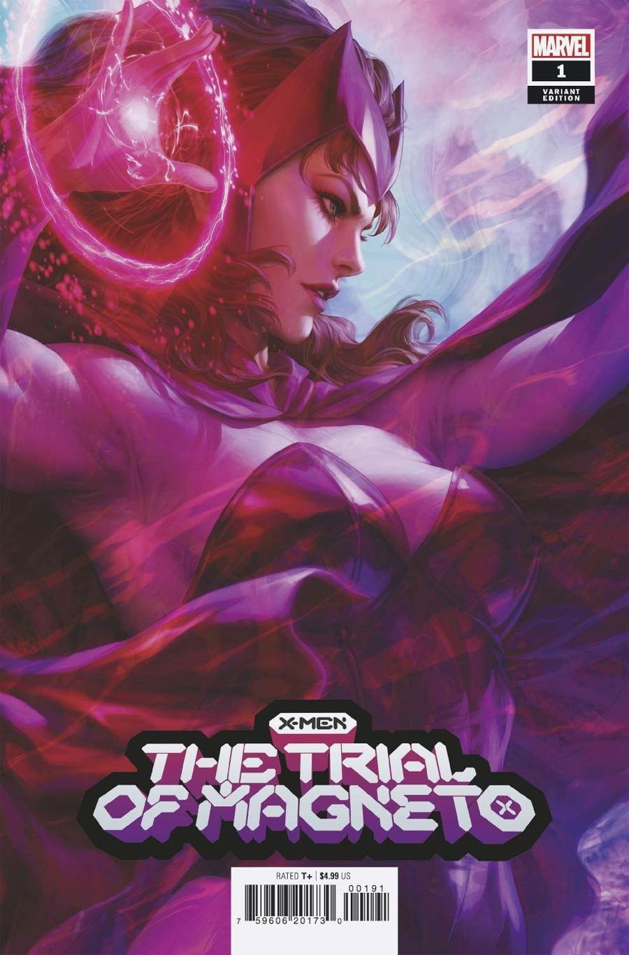 X-Men Trial Of Magneto #1 Cover G Variant Stanley Artgerm Lau Cover