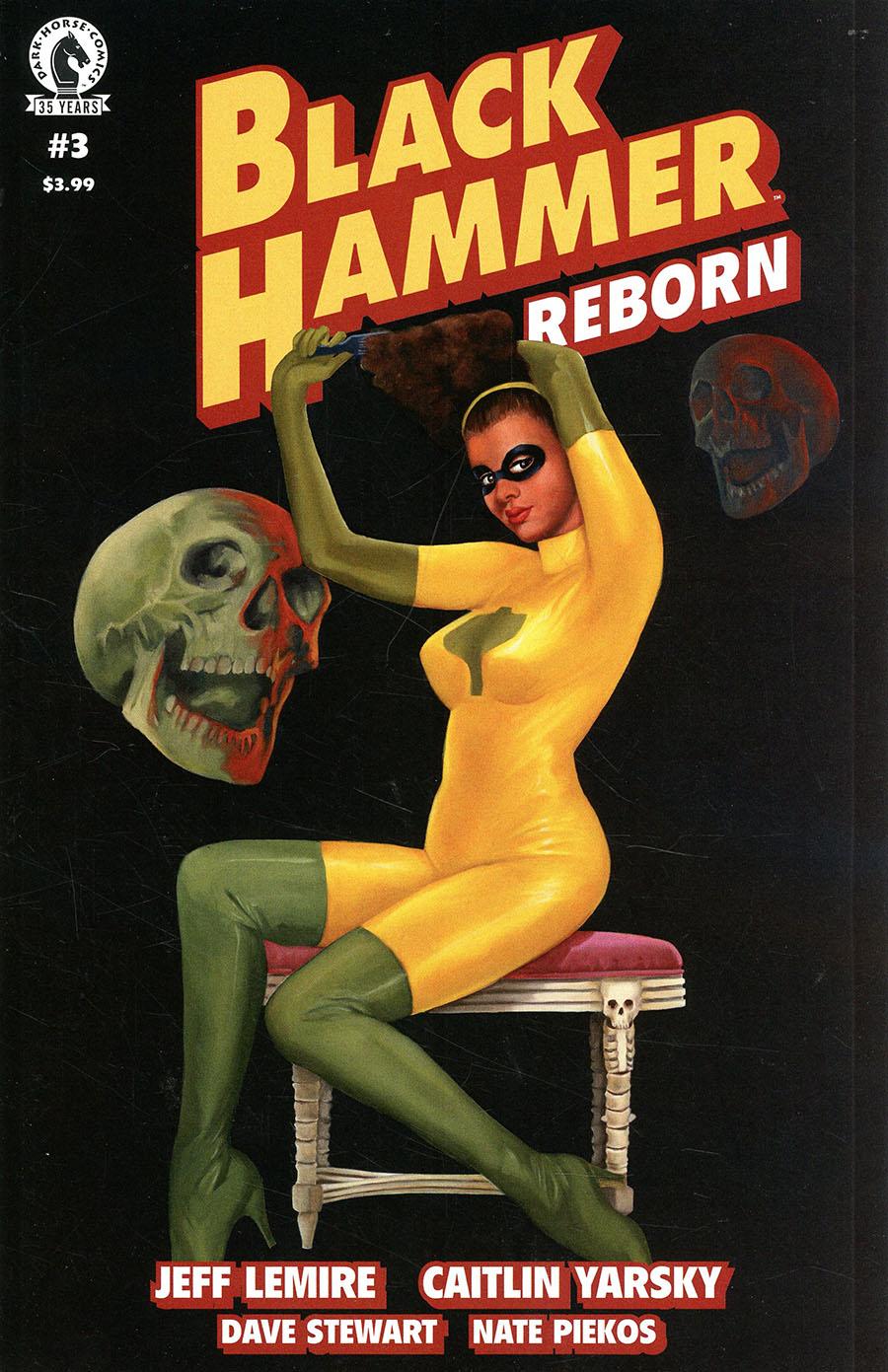 Black Hammer Reborn #3 Cover B Variant Fiona Stephenson Cover