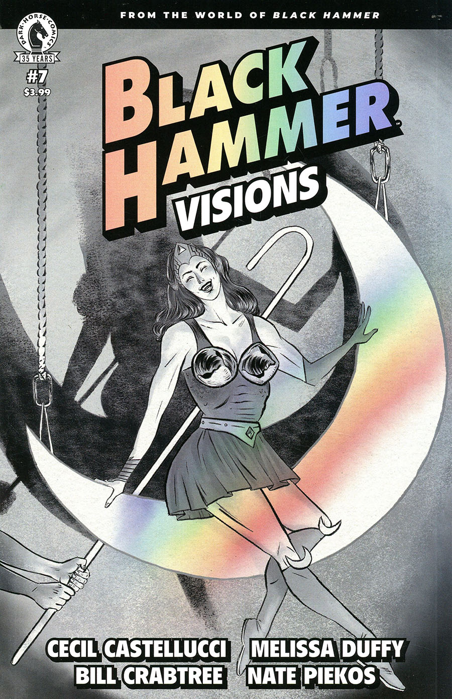 Black Hammer Visions #7 Cover A Regular Melissa Duffy Cover