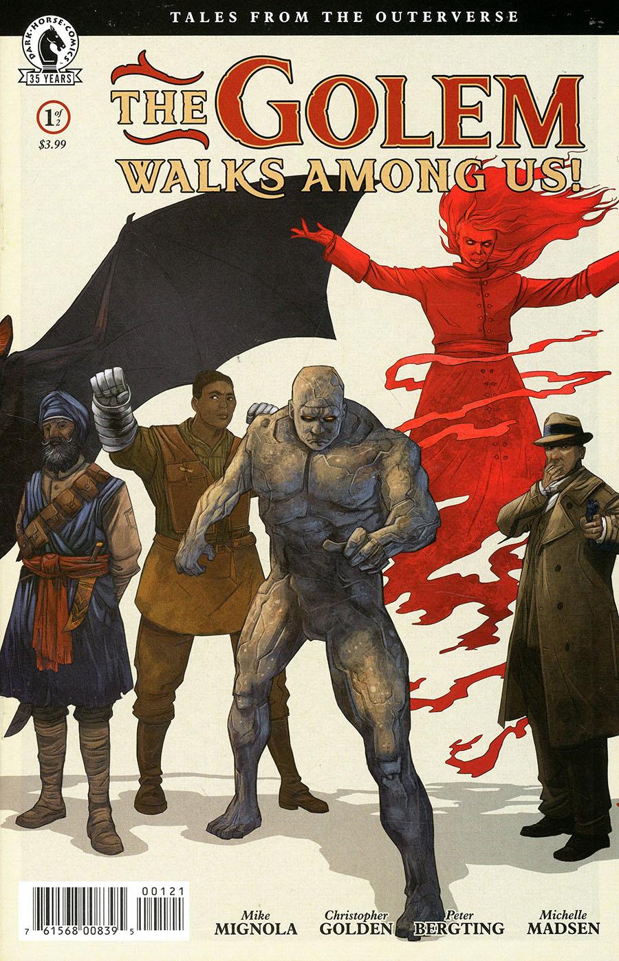 Golem Walks Among Us #1 Cover B Variant Peter Bergting Cover