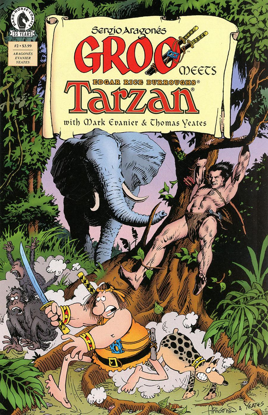 Groo Meets Tarzan #2