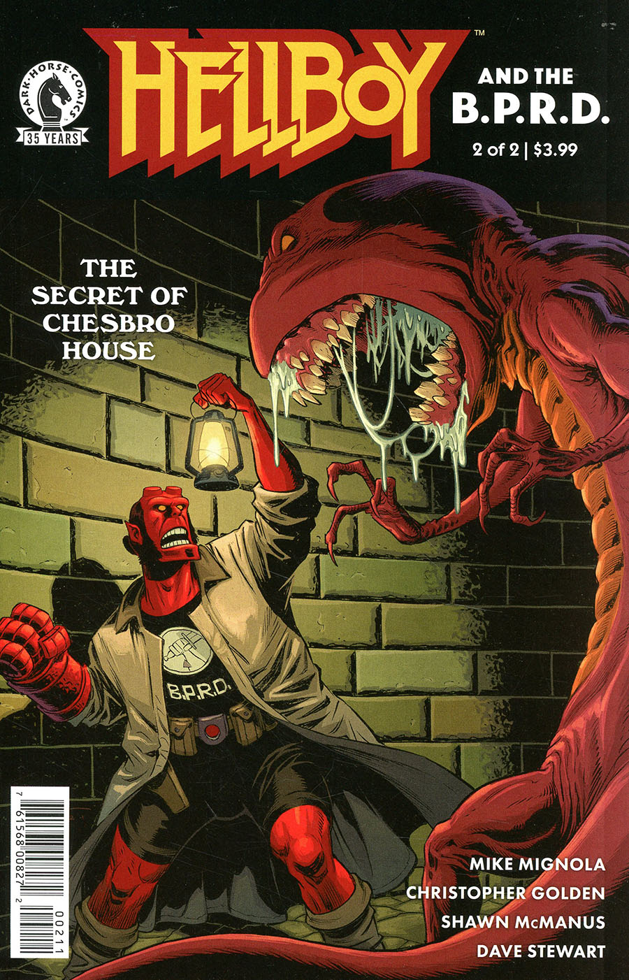 Hellboy And The BPRD Secret Of Chesbro House #2 Cover A Regular Shawn McManus Cover