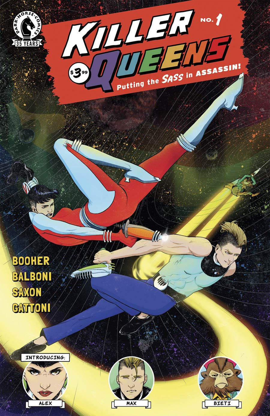 Killer Queens #1 Cover A Regular Claudia Balboni Cover