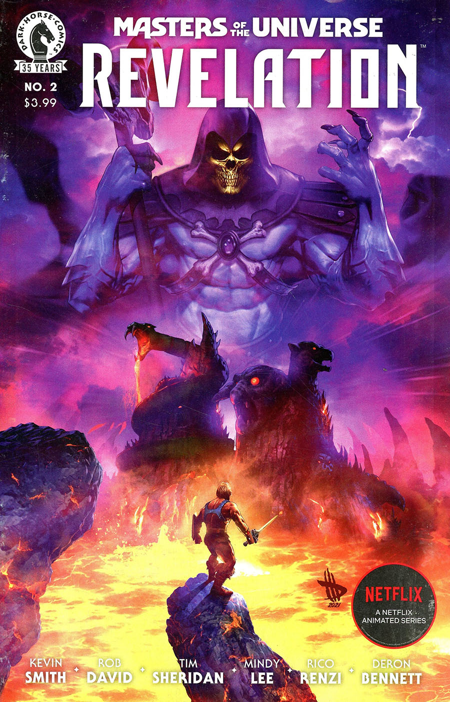 Masters Of The Universe Revelation #2 Cover A Regular Dave Wilkins Cover