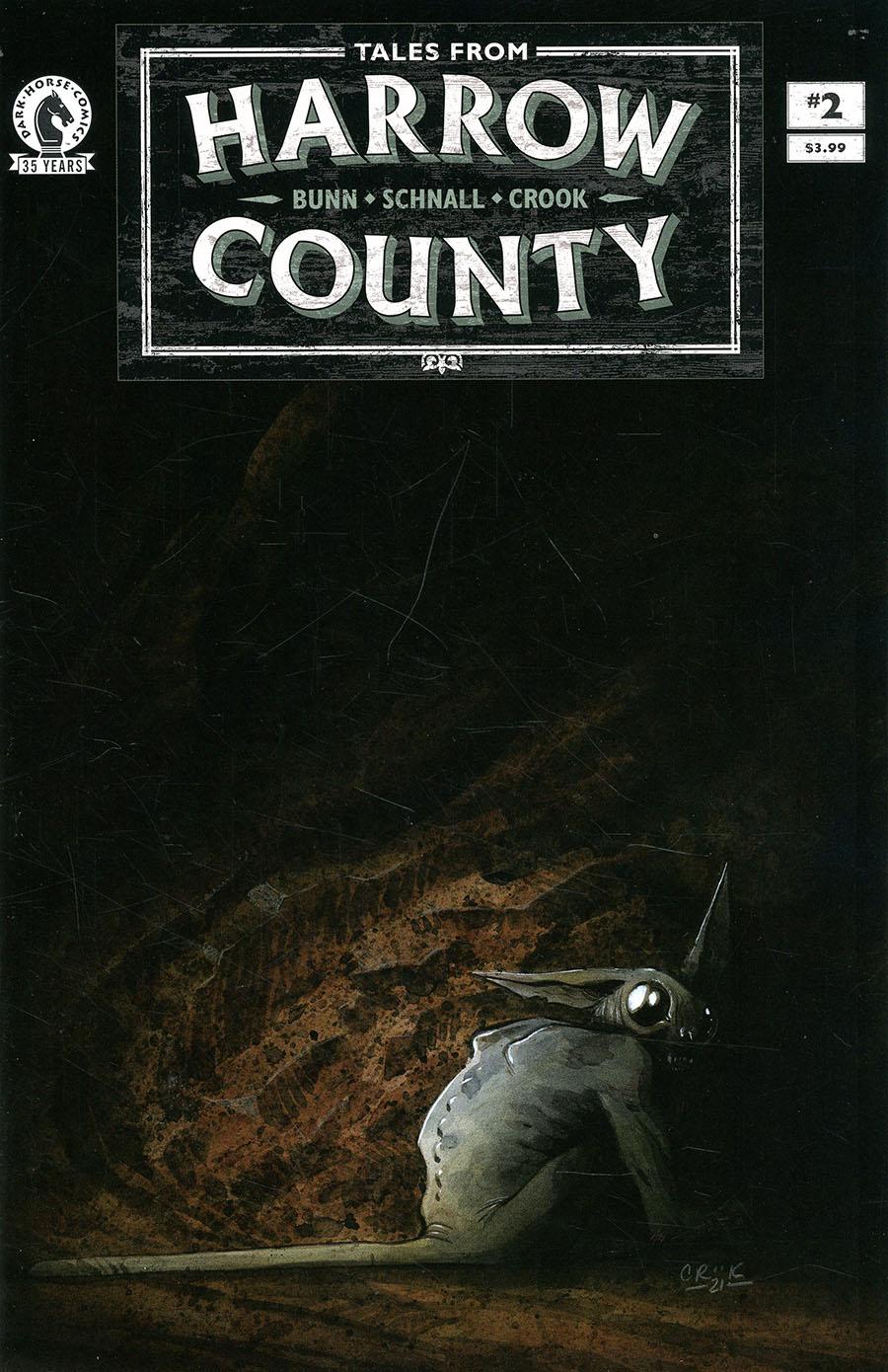 Tales From Harrow County Fair Folk #2 Cover B Variant Tyler Crook Cover