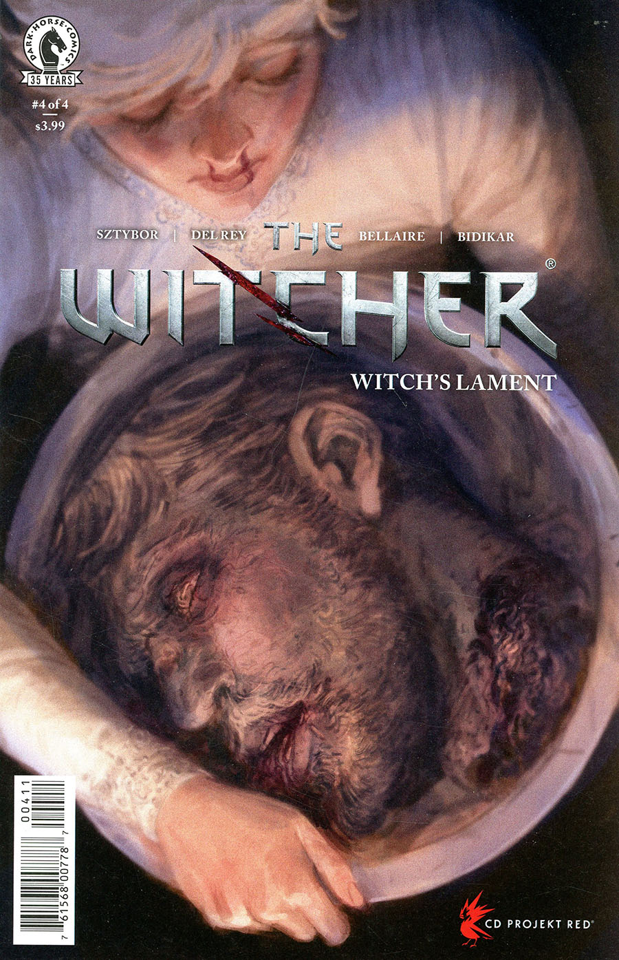 Witcher Witchs Lament #4 Cover A Regular Vanesa R Del Rey Cover