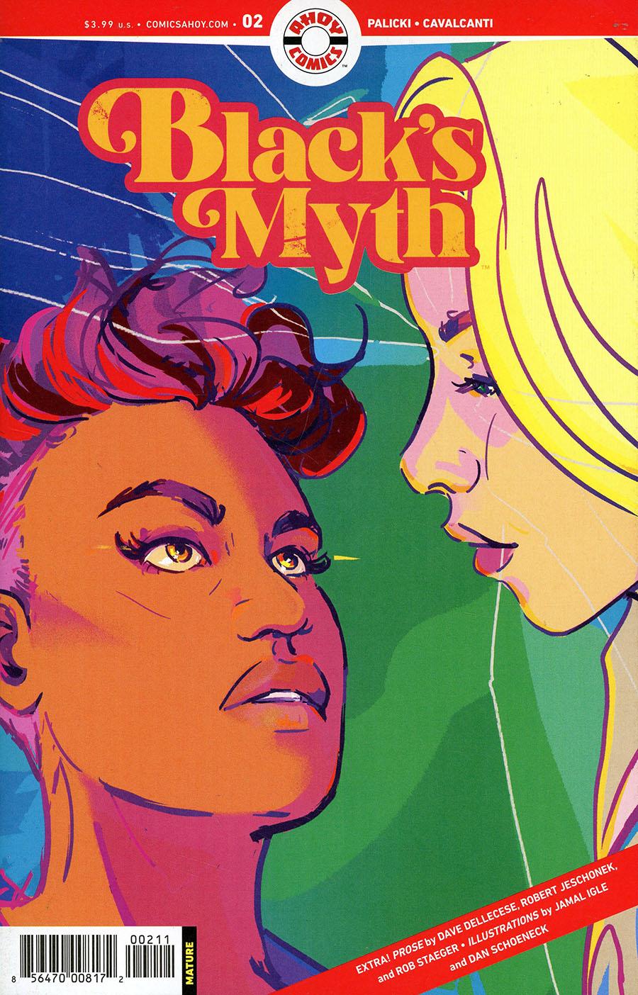 Blacks Myth #2 Cover A Regular Liana Kangas Cover