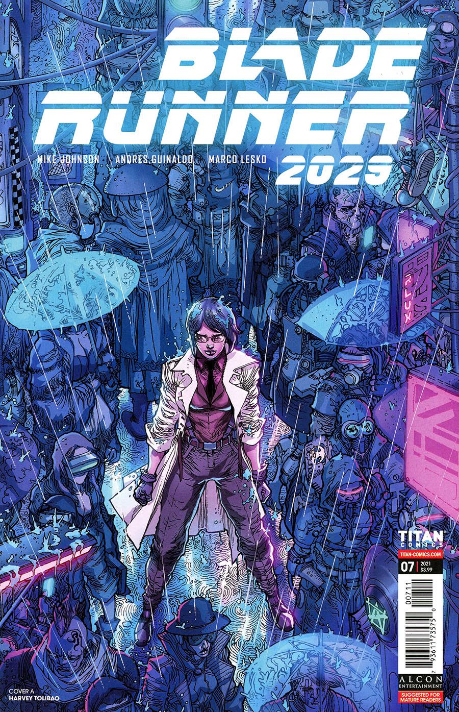 Blade Runner 2029 #7 Cover A Regular Harvey Tolibao Cover