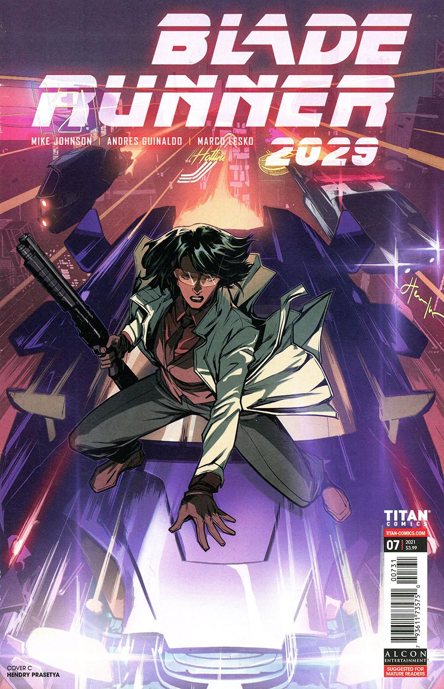 Blade Runner 2029 #7 Cover C Variant Hendry Prasetya Cover