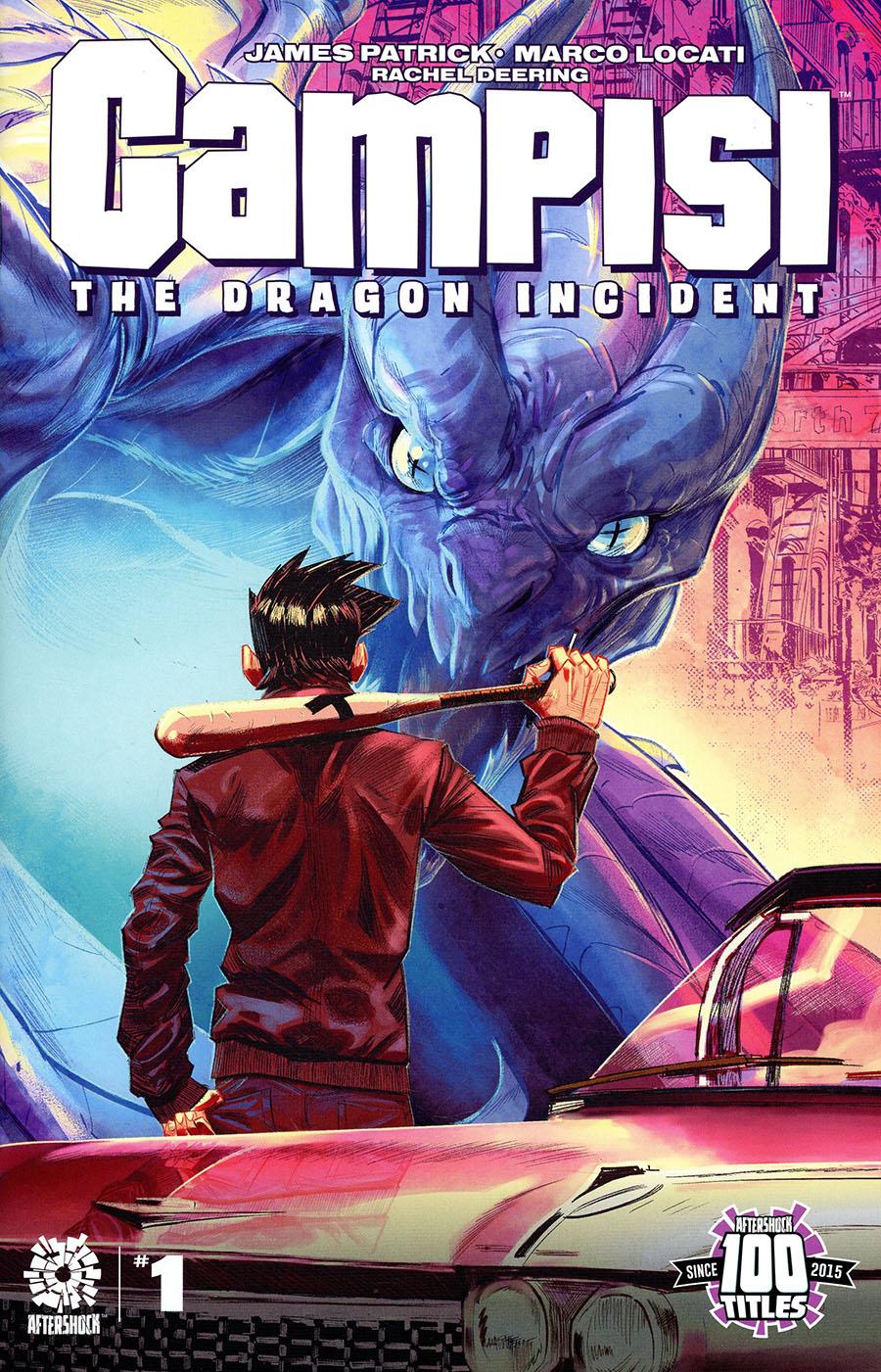 Campisi The Dragon Incident #1 Cover A Regular Fran Galan Cover