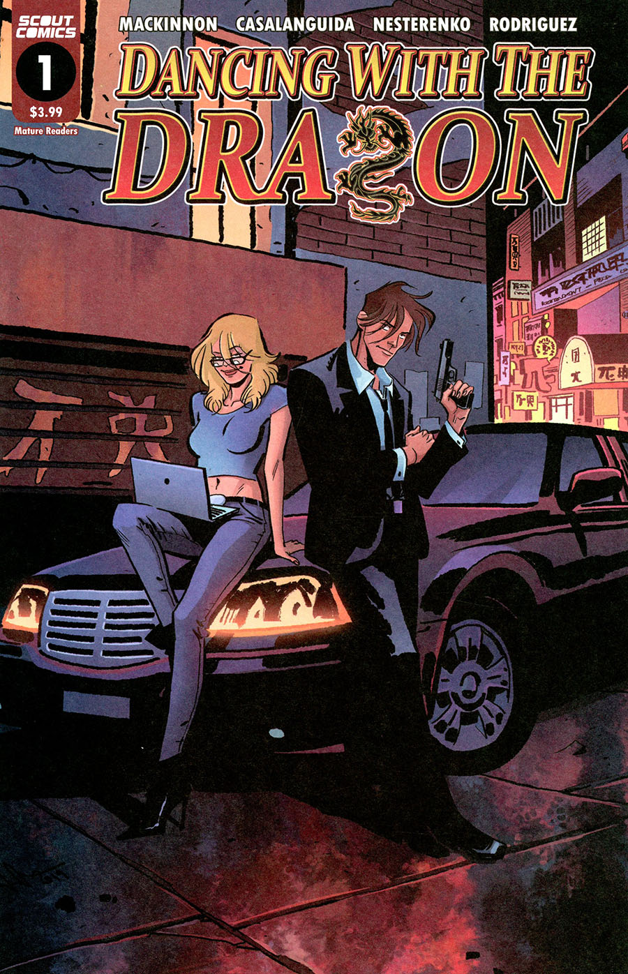 Dancing With The Dragon #1 Cover A Regular Luca Casalanguida Cover