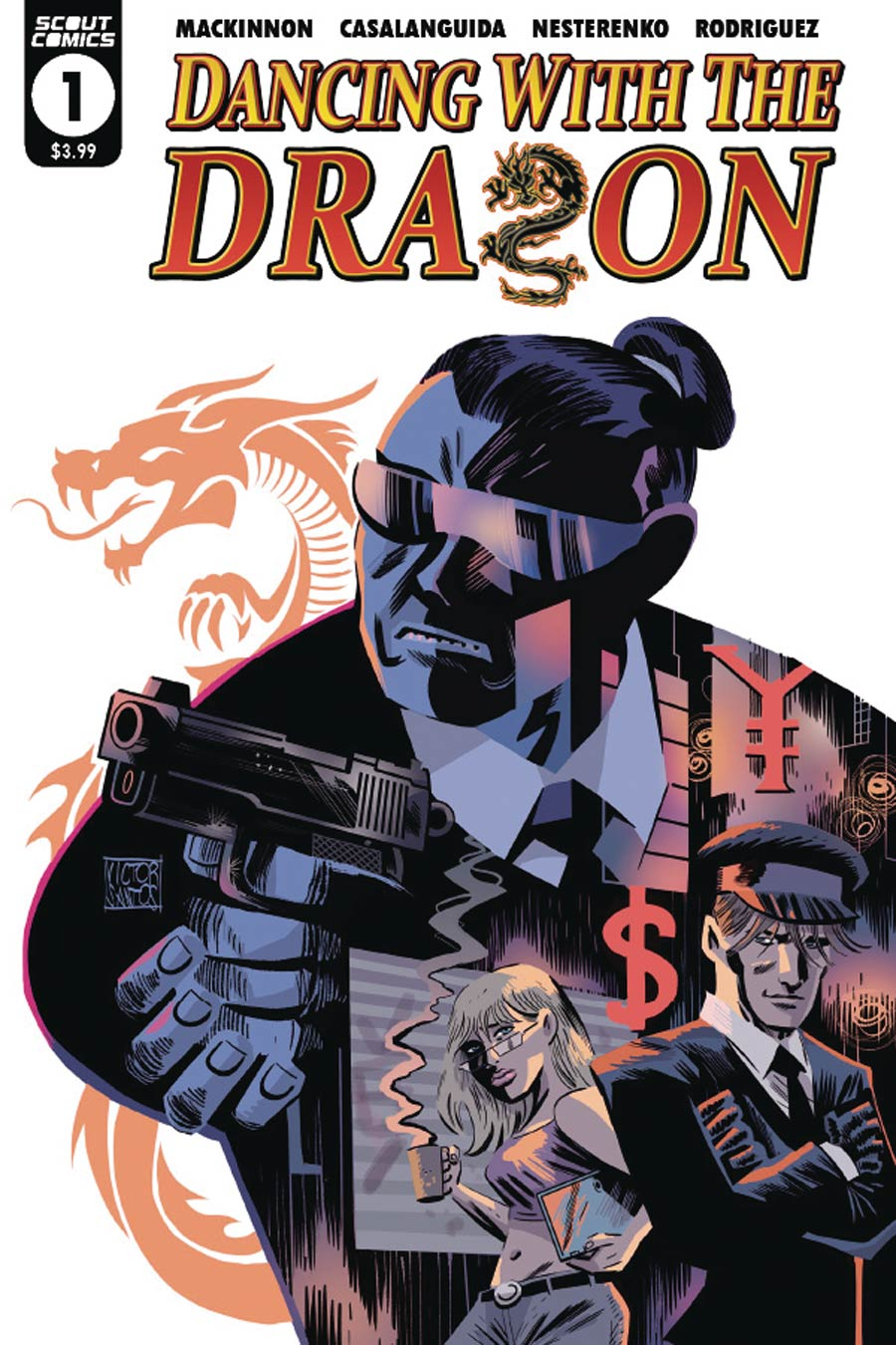 Dancing With The Dragon #1 Cover B Variant Victor Santos Cover