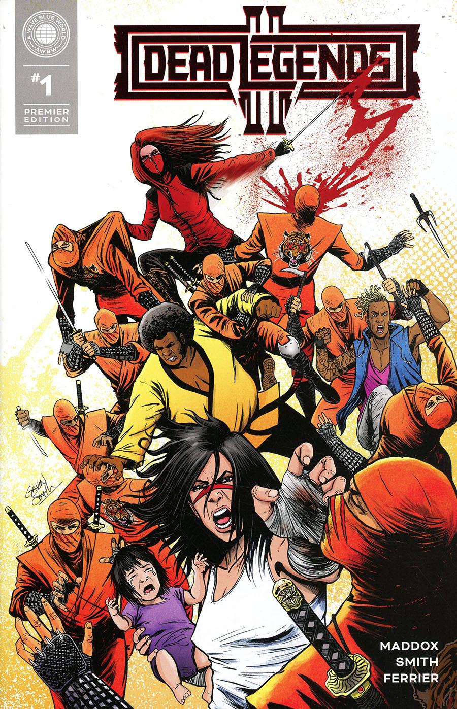 Dead Legends II Premier Edition Cover A Regular Gavin Smith Cover