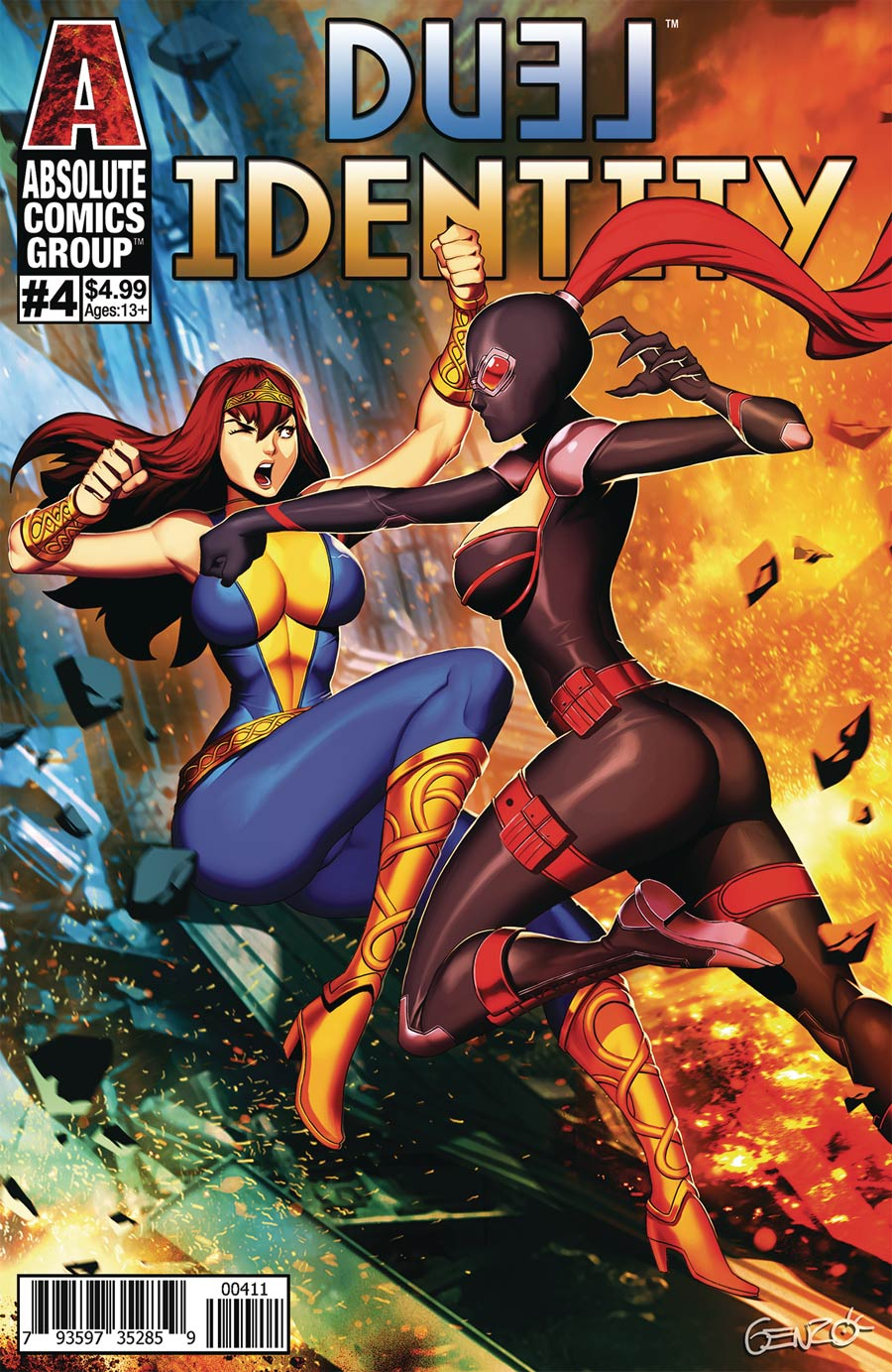 Duel Identity #4 Cover A Regular Genzoman Cover