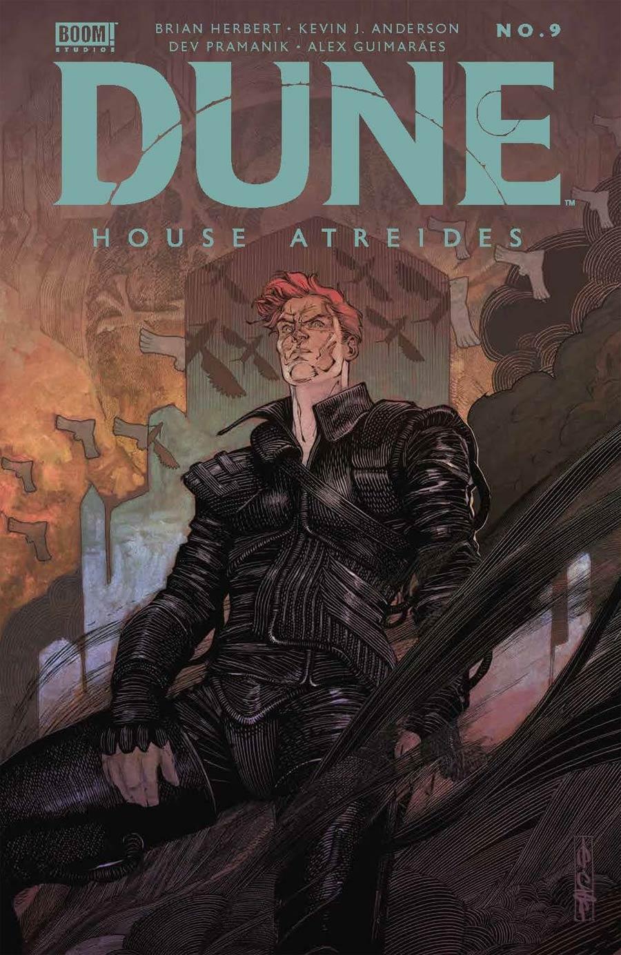 Dune House Atreides #9 Cover A Regular Evan Cagle Cover