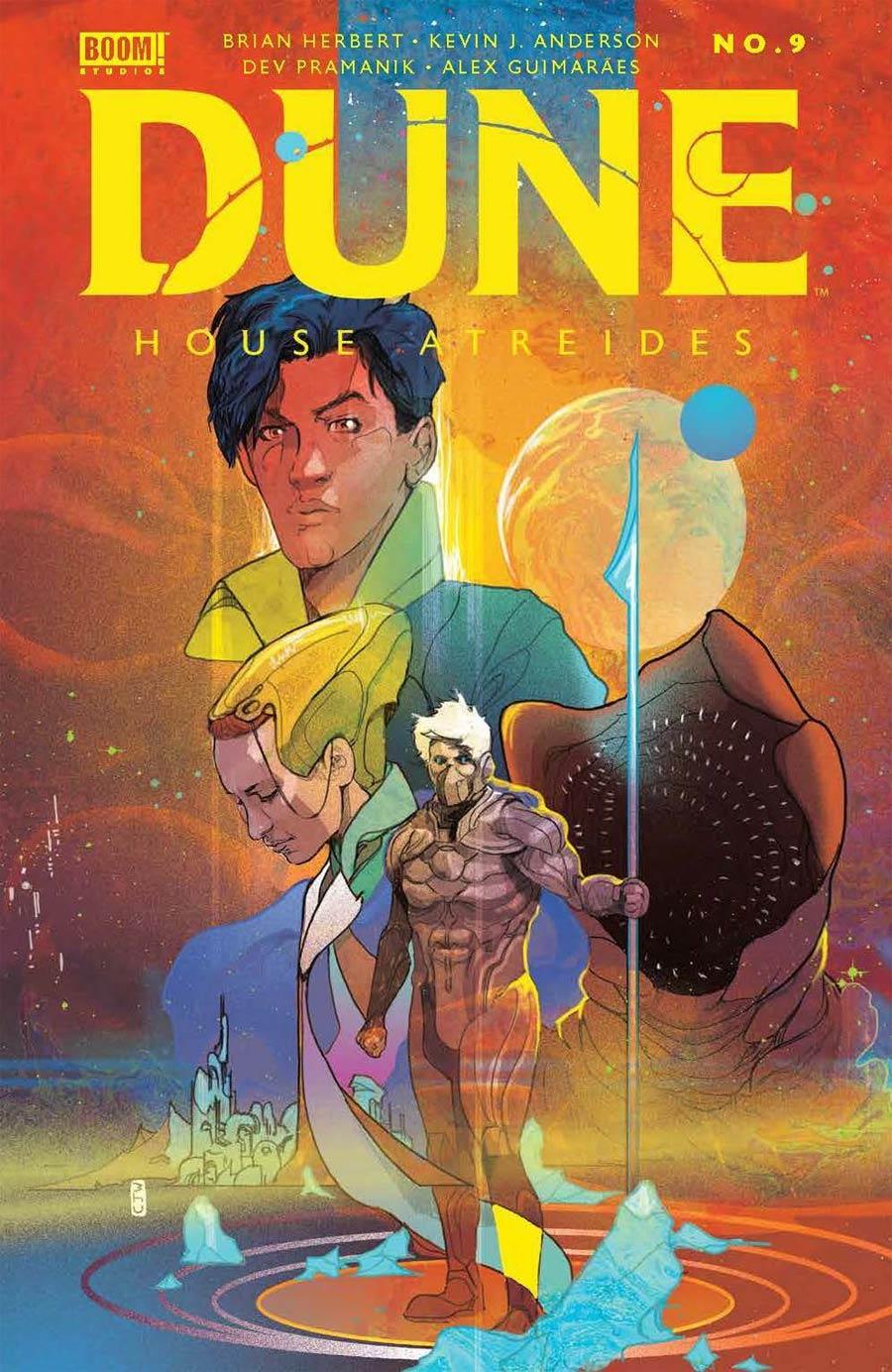 Dune House Atreides #9 Cover B Variant Christian Ward Cover