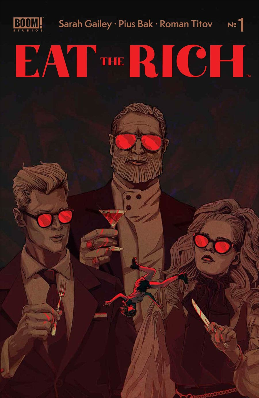 Eat The Rich #1 Cover A Regular Kevin Tong Cover (Limit 1 Per Customer)